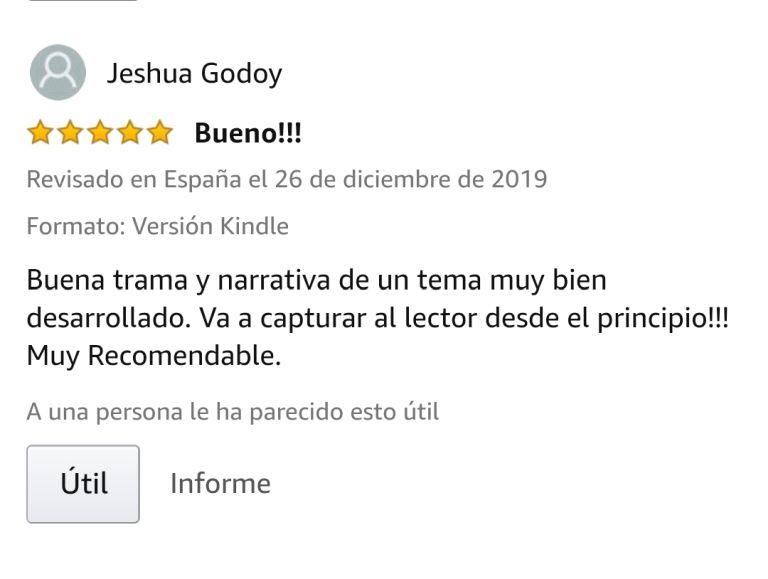 """OPINIONES LIBRO: Opinión 5 estrellas en Amazon de  clientes de Amazon obre el libro LEER ANTES DE DORMIR de Javier de Frutos: """"Una lectura muy enriquecedora. Muy bueno. Magnifico libro, super entretenido""""."""